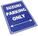 Tabuľka SUZUKI PARKING ONLY