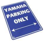 Tabuľka YAMAHA PARKING ONLY